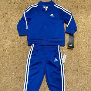 Adidas boy tracksuit set